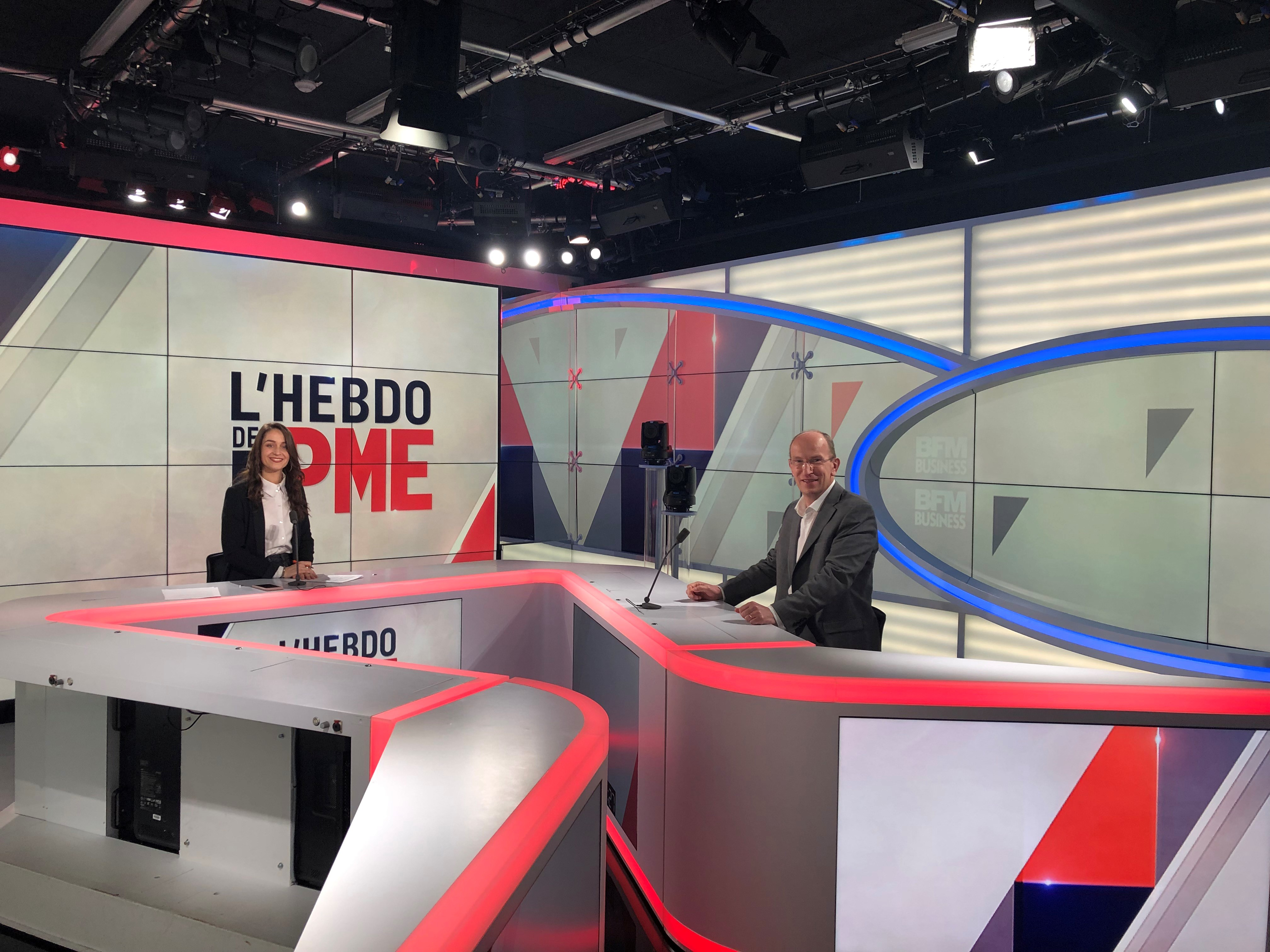 Interview BFM Business – Hebdo des PME