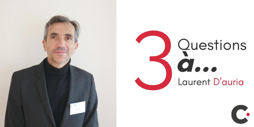 3 questions à Laurent D'auria, PLS 2021